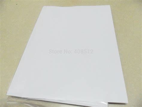 printable vinyl material aliexpress com buy 40 sheets a4 blank waterproof matte