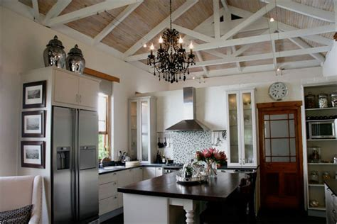 Kitchen Lighting Ideas Vaulted Ceiling Beautiful Vaulted Kitchen Ceiling Lighting Design And Decoration Orchidlagoon