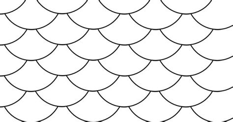 fish coloring page with scales fish scale pattern fish scales pinterest scale fish