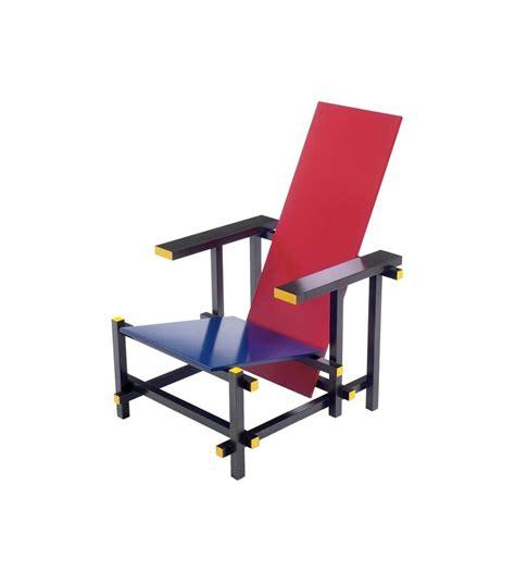 chaise rietveld miniature rood blauwe stoel rietveld milia shop