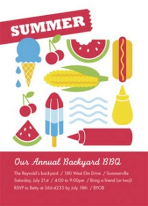 Come With Me End Of Summer Bbq Invites by Cardstore 75 All Invitations Free Delivery