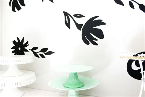 printable vinyl tutorial gigantic floral vinyl wall decals printable crush