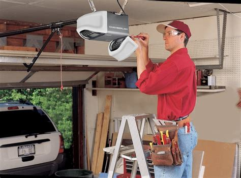 How To Install A Chamberlain Garage Door Opener by New Garage Door Installation Raleigh Nc