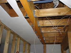 Ceiling Load by How To Install A Flush Laminate Beam Structural Framing Beams Load Bearing