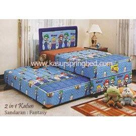 Kasur Bed Merk Uniland 2 in 1 ranjang sorong anak anak merk uniland springbed