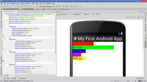 android studio material design tutorial pdf android xml layout width percentage appendix everything