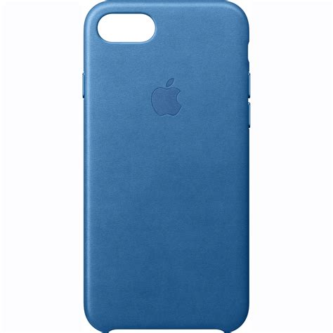 iphone 7 b apple iphone 7 leather sea blue mmy42zm a b h photo