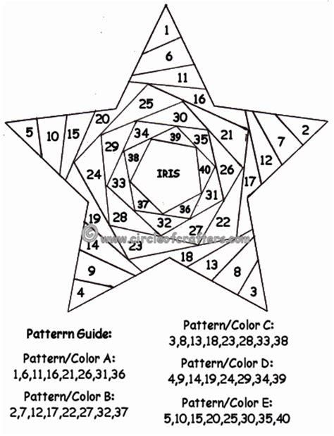 Free Paper Folding Patterns - free printable iris folding patterns cards templates
