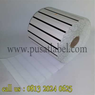 Label Barcode Semicoated 32 X 18 3 Line Gap 1 Isi 5000 Label jual kertas stiker label barcode semicoated 32 mm x 18 mm