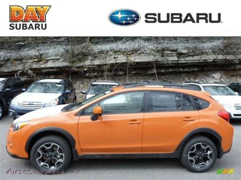 subaru orange crosstrek 2013 subaru crosstrek 2 0 limited in tangerine orange