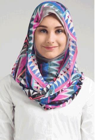 tutorial hijab pashmina masa kini model hijab modern simple 2017 styles 7