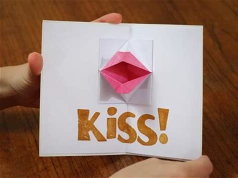 origami card popup