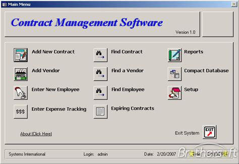 microsoft access contract management database template free contract management software contract
