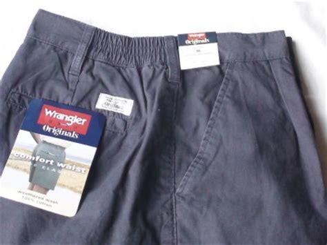 Comfort Waist Golf Shorts by Mens Wrangler Comfort Waist Elastic Shorts Golf 36 Nwt Ebay