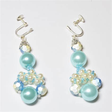 pearl chandelier earrings beading pattern dean