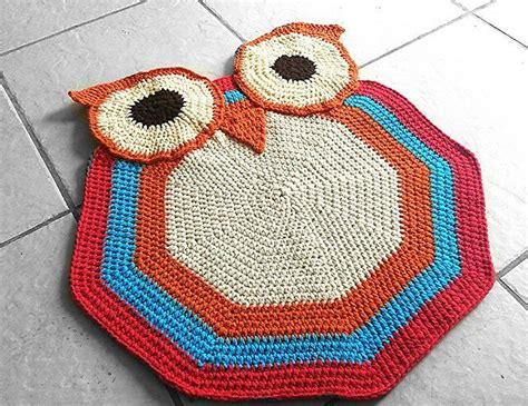 crochet owl rug pattern free free crochet owl rug pattern crochet listia auctions for free stuff