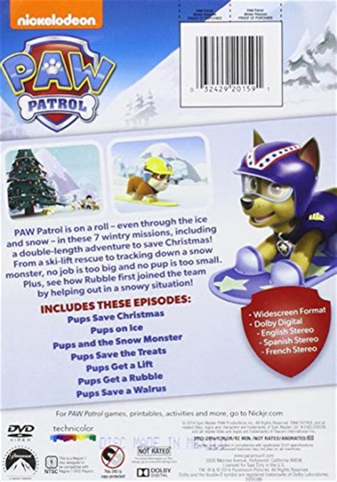 paw patrol winter rescues now on dvd mbsgiftguide giveaway paw patrol winter rescues new ebay
