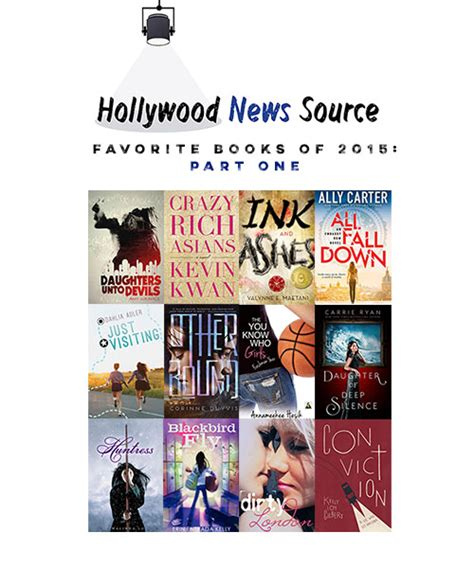 hollywood news yesterday hollywood news source favorite books of 2015 part one