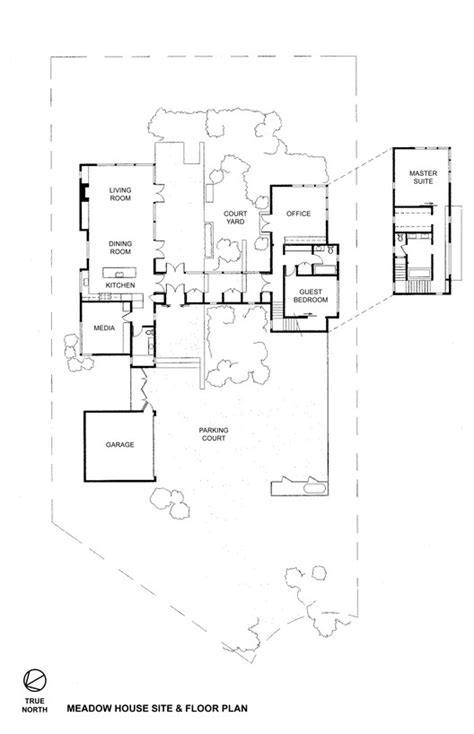 east meadows floor plan meadow house malcolm davis architecture archdaily