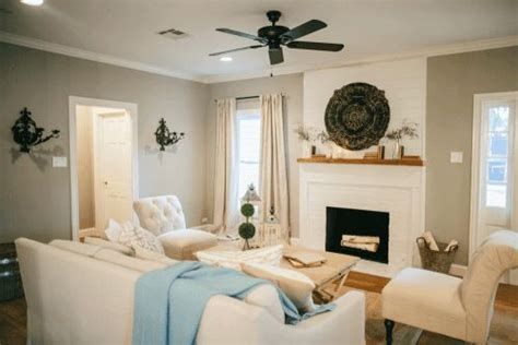 mindful gray living room fixer fireplaces magnolia homes and magnolia market