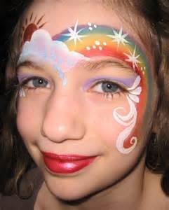 Rainbow face rainbow face