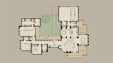 Style Home Plans With Courtyard by Hacienda Type House Plans Hacienda Style House Plans With