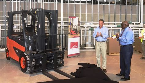 volvo energy efficient forklifts part  environmentally friendly south carolina plant