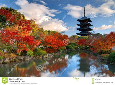 Rinn Toji Kyoto Japan Asia toji pagoda in kyoto japan stock photo image of