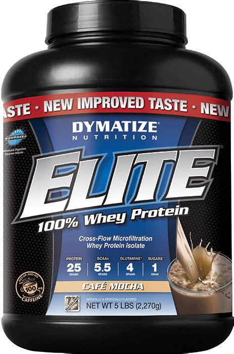 Dymatize Elite Whey Protein Isolate Dymatize Elite Whey Protein Isolate Cafe Mocha 5 Lb