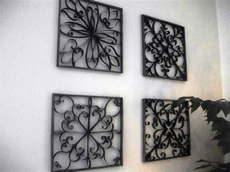 rod iron wall home decor wrought iron wall decor large eldesignr