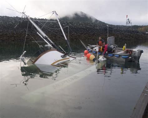 haines alaska fishing boat sunken tender neptune closes haines harbor alaska public