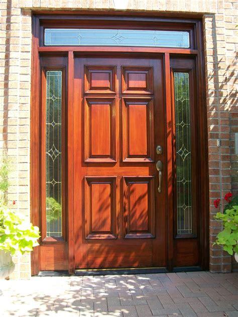 Door Refinishing by Checking Wood Door S Weather Stripping Saves Money