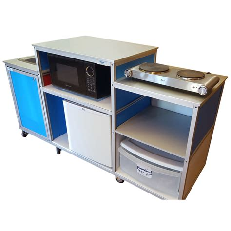 mobile kitchen with portable sink model pk 001 monsam