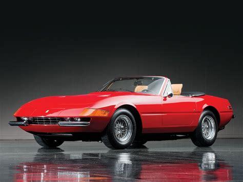 Ferrari Daytona Spider by 1973 Ferrari 365 Gtb 4 Daytona Spider By Scaglietti