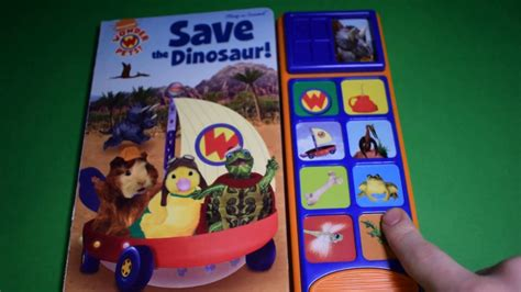 Baby Einstein Lift Flap Soundbook pets save the dinosaur lift a flap sound book