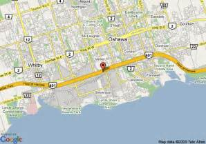 map of best western durham hotel oshawa