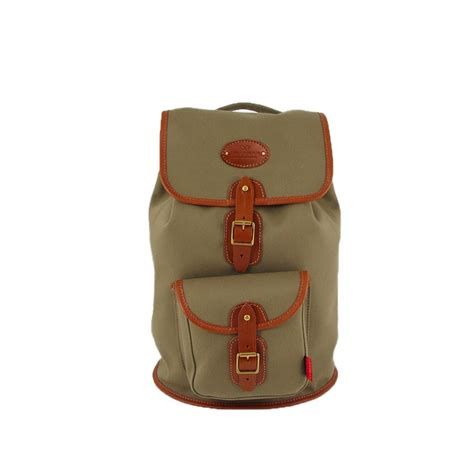 Rugged Travel Luggage Mens Canvas Border Rucksack High Quality Made In England