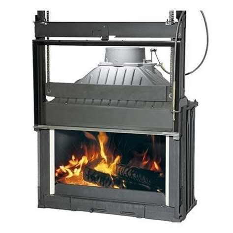 Chiminea Philippe by Single Fronted Radiante 844 Wood Fireplace Cheminees
