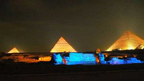 Sound And Light Show At The Giza Pyramids Cairo Tours