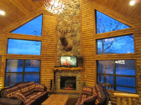 chalets on table rock lake vrbo luxury lakefront log chalet 50ft to lake boat vrbo