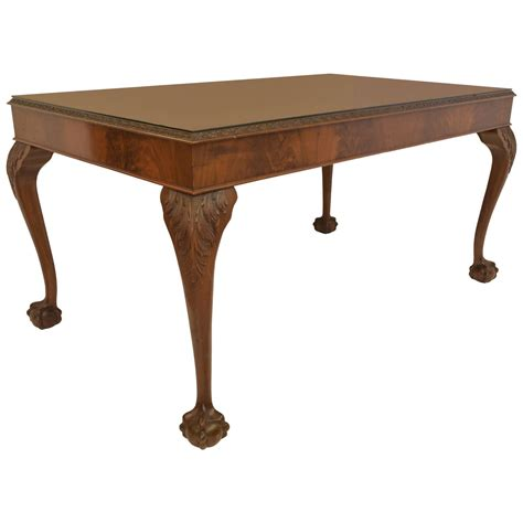 chippendale desk chippendale style library table or desk at 1stdibs