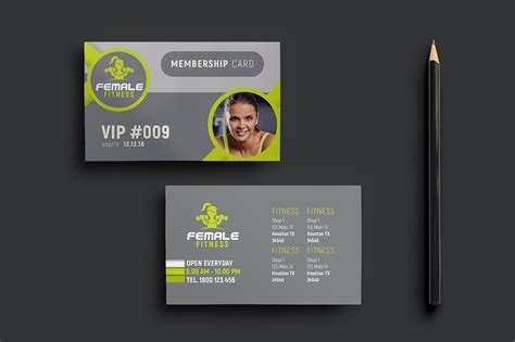 membership card with picture template 15 membership card designs design trends premium psd
