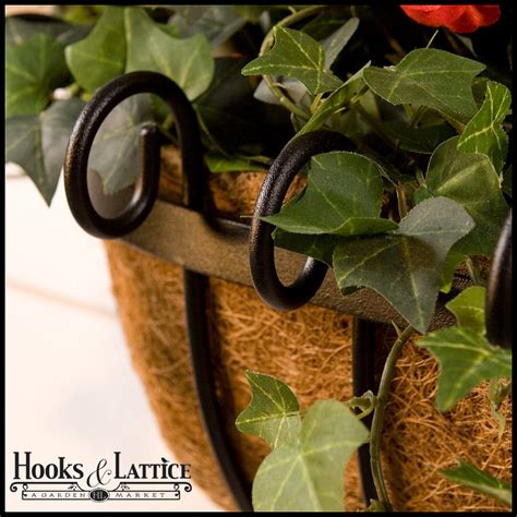 Coconut Husk Planter Liners by Moss Planters Coco Planter Window Planters Scroll Iron