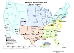 federal prisons in map organization mission and functions manual federal bureau