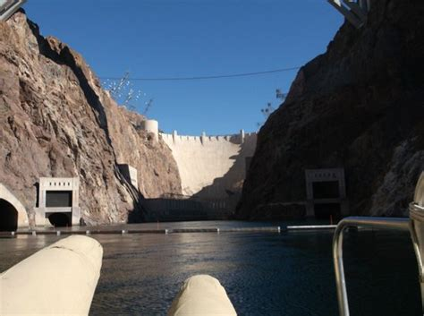 hoover dam boat tours hoover dam from pontoon boat picture of pink jeep tours