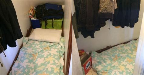 bedroom under the stairs room to rent in london for 163 500 a month turns out to be