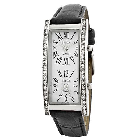 Breda Women's Dual Time Zone Watches