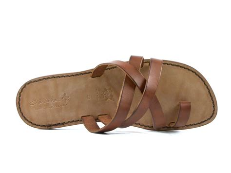 Mens Handmade Sandals - s leather sandals handmade in italy in color