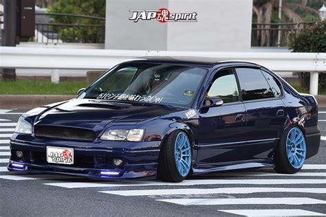 Stancenation 2016 Subaru Legacy 3rd Sedan Hellaflush Blue
