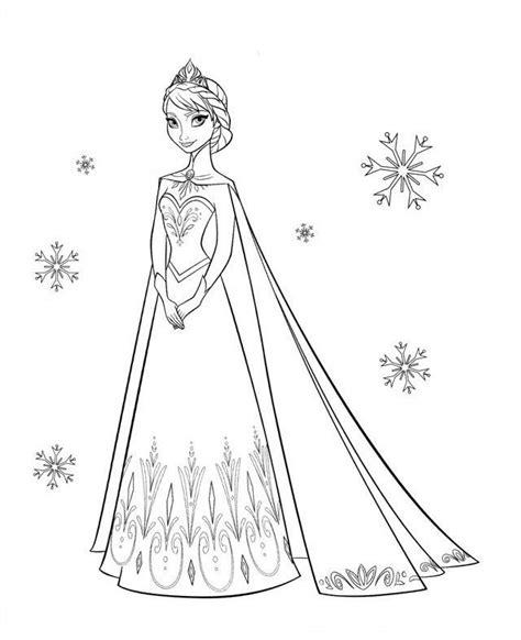 elsa christmas coloring pages printable disney frozen coloring page kleurplaat frozen elsa